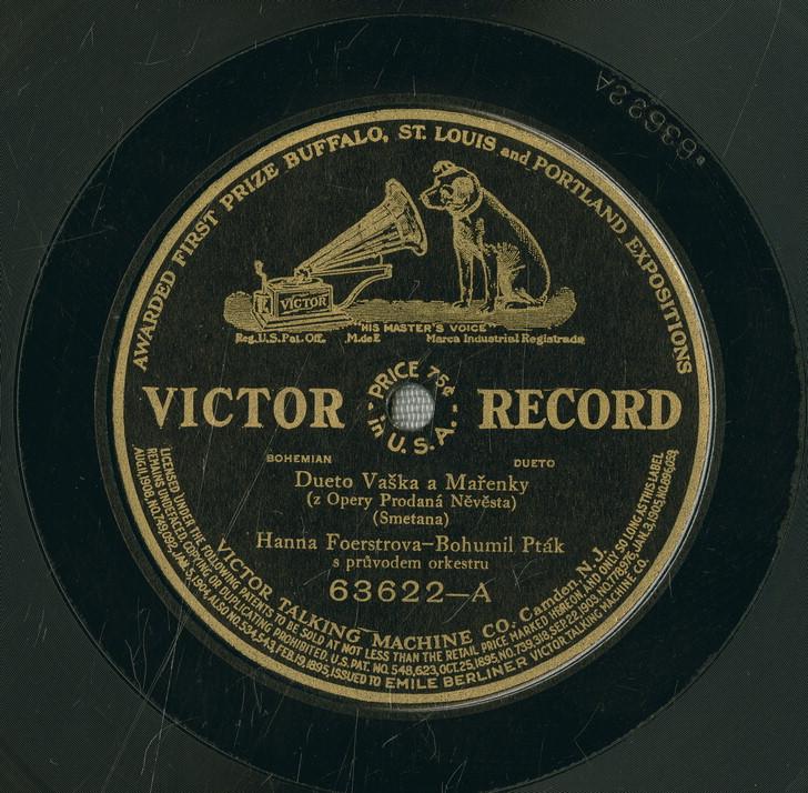 Gramofonová deska Dueto Vaška a Mařenky