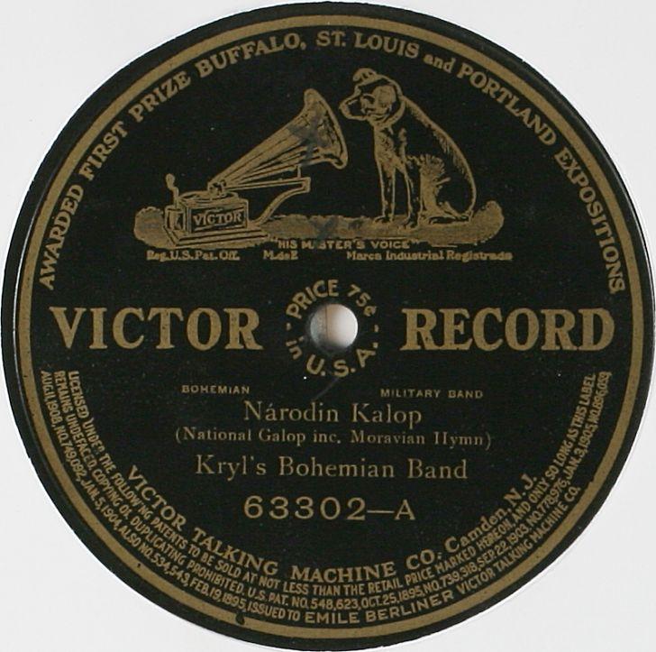 Gramofonová deska Národin Kalop